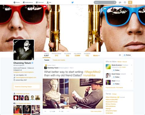models layout twitter twitter announces new facebook style page layout with a