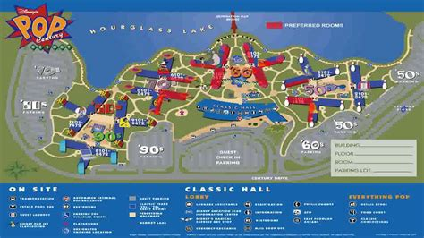 disney world orlando map with hotels walt disney world resort theme park maps all four parks
