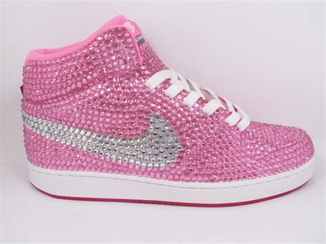 pink nike shoes custom pink nike shoes as made for trisha paytas rhinestone