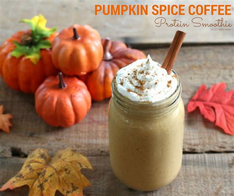 pumpkin spice for coffee pumpkin protein smoothie recipe dishmaps