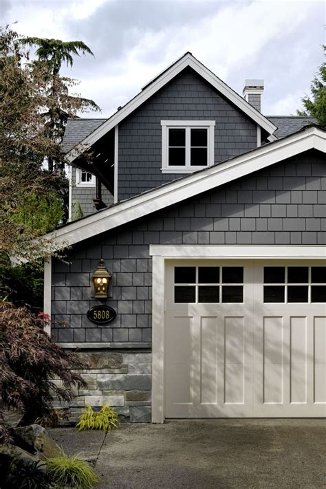 Exterior Garage Doors 25 Best Ideas About Shake Siding On Home Exterior Colors Exterior House Colors And