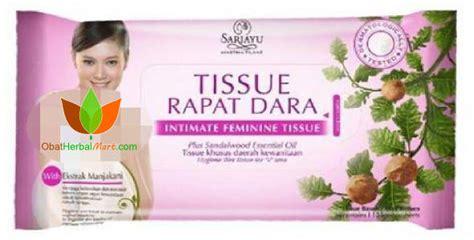 tissue rapat dara sariayu tissue manjakani untuk wanita