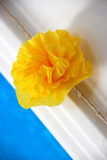 How To Make Mexican Crepe Paper Flowers - pin by baker on rs activities committee