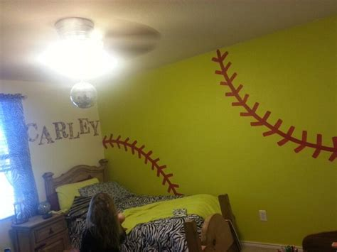 softball bedroom ideas softball bedroom ideas room decor crafts wall gracie