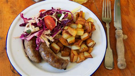 cuisine easy toulouse pan fried toulouse sausage with pork potatoes and