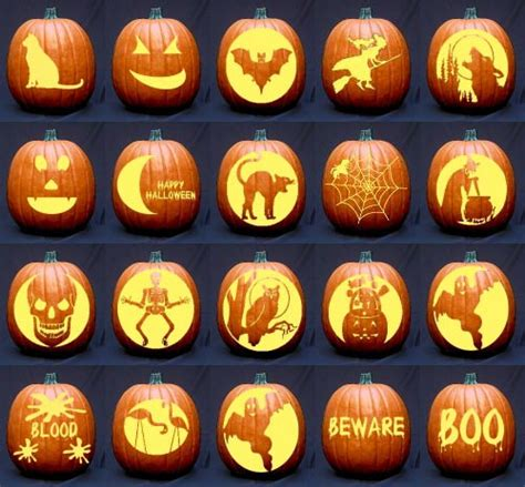 pumpkin pattern ideas for halloween halloween pumpkin faces image king