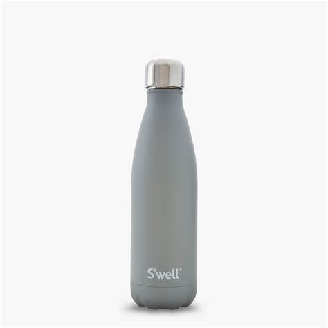 s well 174 official s well bottle smokey quartz durable grey water bottle s well bottle