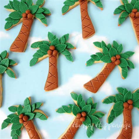 how to decorate a palm tree palm tree cookies treats