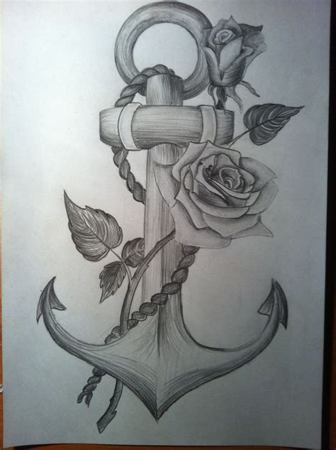 anchor tattoos tumblr 25 best anchor drawings ideas on