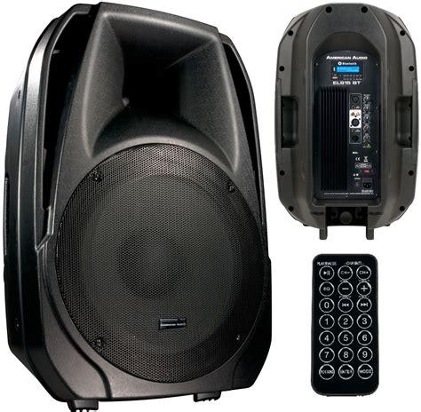 Speaker Subwoofer American american audio els 15bt american audio dj speaker