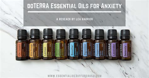 doterra essential oils  anxiety certified