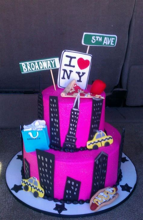 New York Themed Cake Decorations 25 best ideas about new york cake on new cake