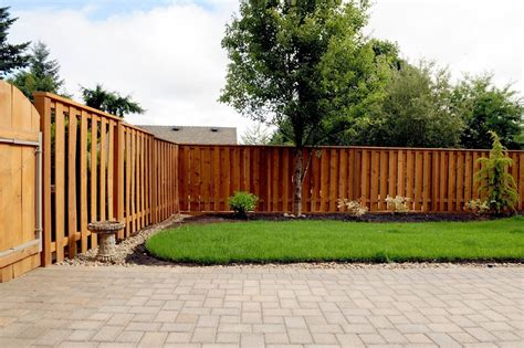 backyard wood fence backyard fence ideas to keep your backyard privacy and