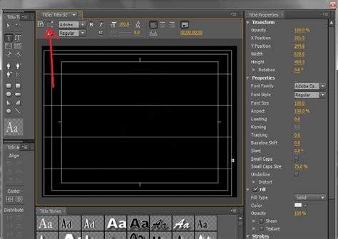 cara membuat tulisan pada video adobe premiere cara membuat roll akhir video menggunakan adobe premiere