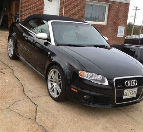 sell   audi rs cabriolet convertible  door
