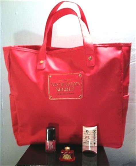 Secret Blink Tote Original free my pink favs victorias secret tote bag purse couture faced lip gin vera