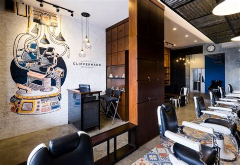 Lu Barbershop Murah Simpel clipperhand barber interior kontraktor jakarta interior design jakarta
