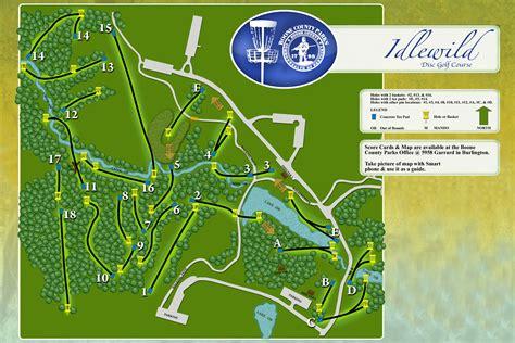 kentucky golf map idlewild disc golf course map 5598 kentucky 338