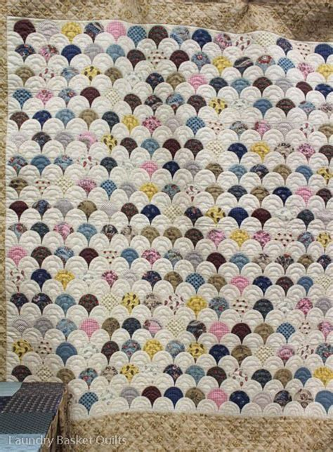 Clamshell Quilt Pattern by 17 Best Images About Quilting Clamshell On