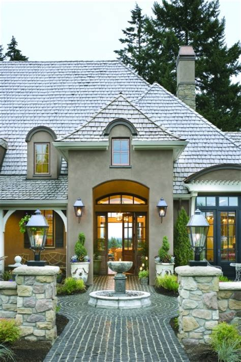 French Country Exterior Design | french country elegance traditional exterior