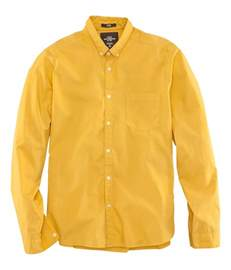 mustard color shirt h m shirt in yellow for mustard lyst