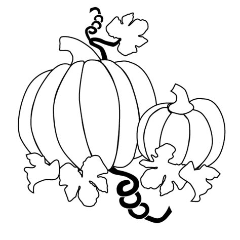 Coloring Pages Of Pumpkin Vines | pumpkins pictures page