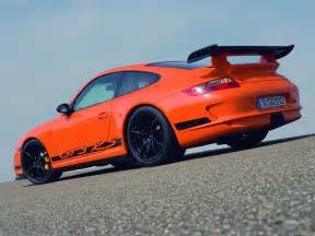 Orange 911 Porsche 2007 Orange Porsche 911 Gt3 Rs Wallpapers