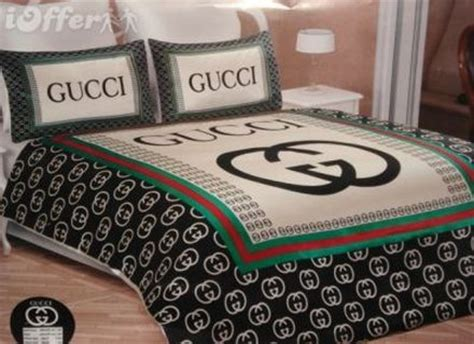 gucci wallpaper for bedroom gucci 6pcs authentic luxury bed set satin made in italy