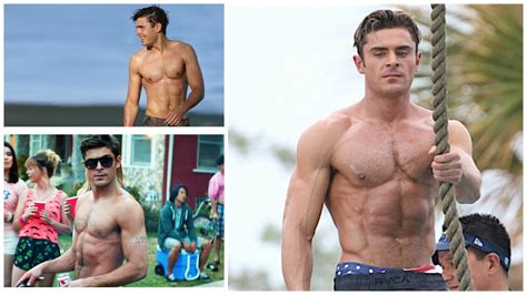 zac efron training zac efron workout routine to get jacked how he went from