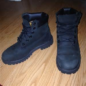colored tims 49 timberland shoes all black tims from priscilla