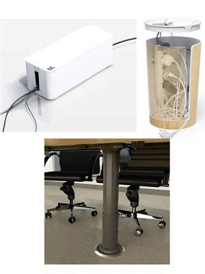 cable desk organizer desk cable management route cables and keep them
