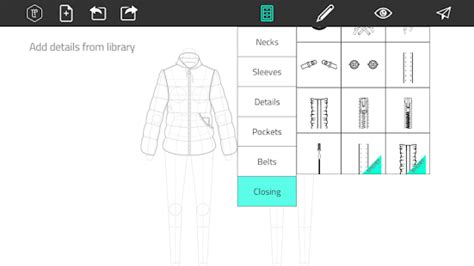 clothing pattern maker app fashion design flat sketch android apps on google play