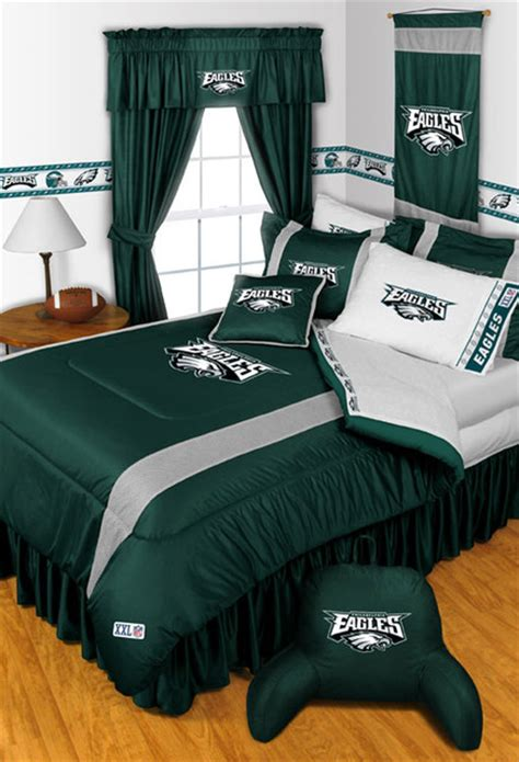 eagles bedroom nfl philadelphia eagles bedding and room decorations
