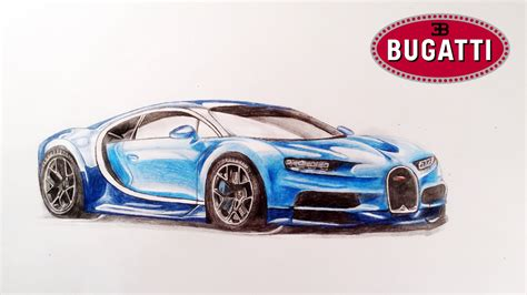 How To Draw Bugatti Chiron