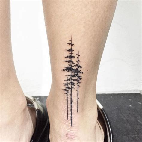 simple tree tattoo best 25 pine ideas on