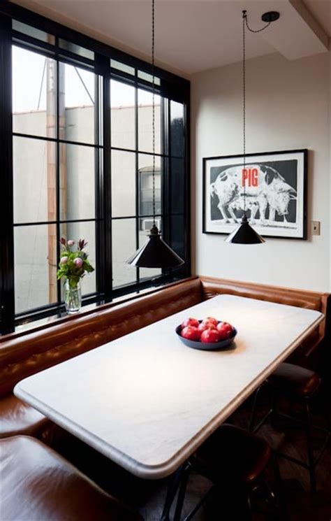 Leather Kitchen Nook 1000 Images About Interior Spaces Booth Seating On