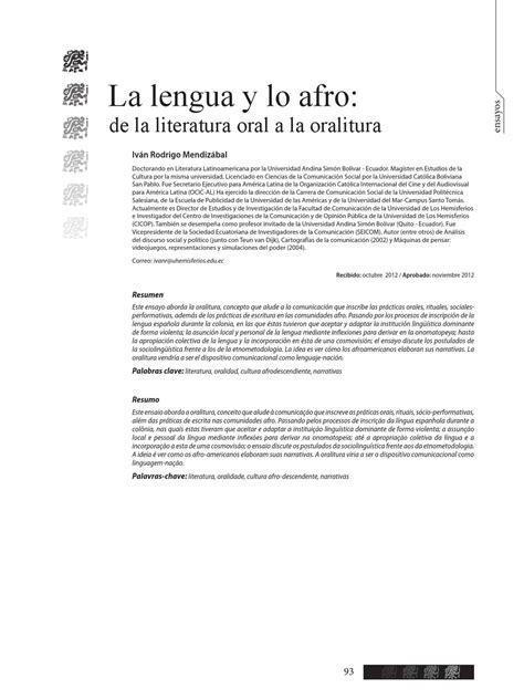 ha afro cubana los negros esclavos estudio sociolã gico y de derecho publico classic reprint edition books la lengua y lo afro de la literatura a la oralitura