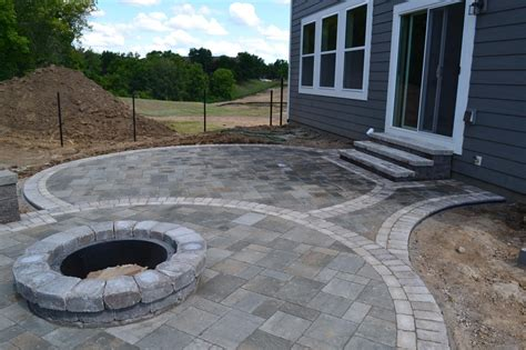 paver pit plans landscaping bloomington mn design hardscapes