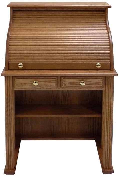 oak laptop desk 29 quot w solid oak roll top vintage laptop desk