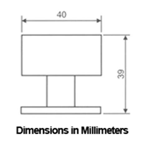 Door Stop Dimensions by Stainless Steel Modern Floor Mount Door Stop Ahi Sig726