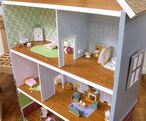 making doll houses pdf make dollhouse wood floors plans free