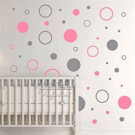 wall stickers dots dots wall sticker baby nursery polka dot wall decal
