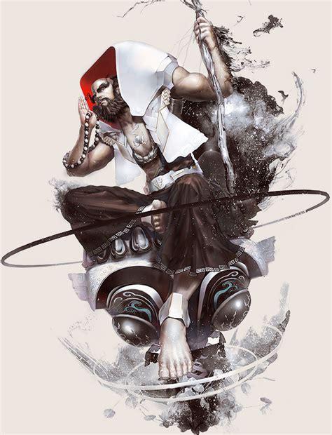 design game art stunning game character designs and fantasy digital art