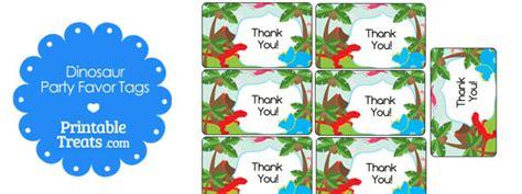 printable dinosaur gift tags free printable dinosaur thank you tags printable treats com