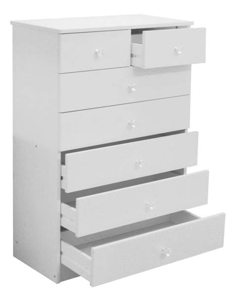 5 Drawer Chest Of Drawers White by White 5 Drawer Chest Of Drawers