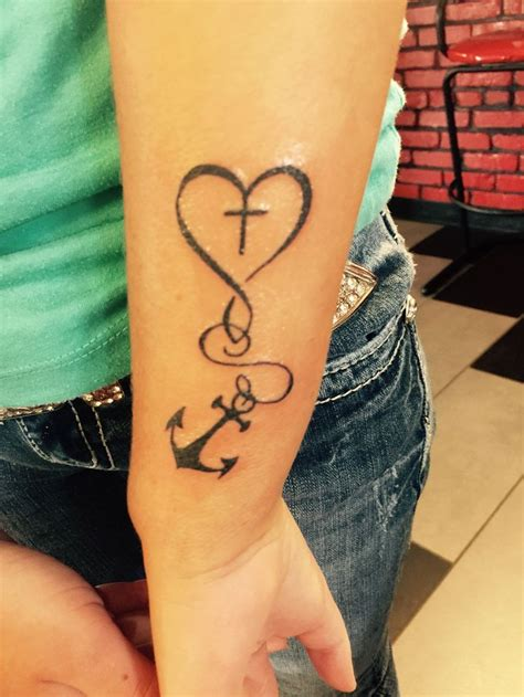 tattoo new cross best 25 cross anchor tattoos ideas on anchor
