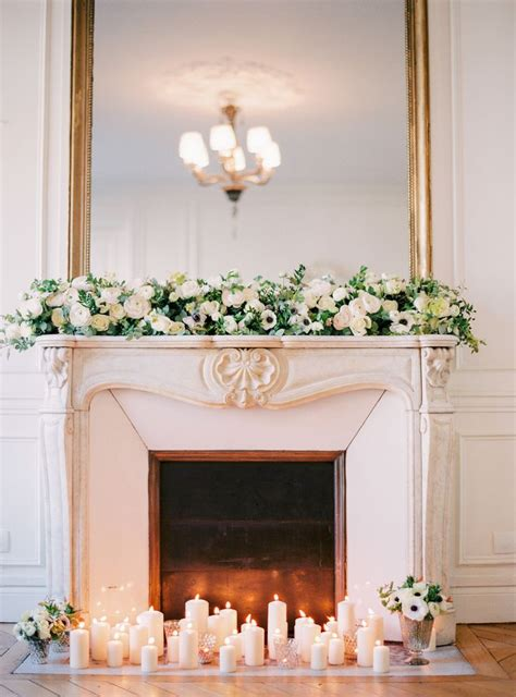 Wedding Fireplace by 25 Best Ideas About Wedding Mantle On Wedding