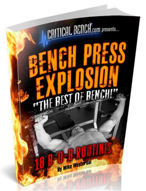 respectable bench press bench explosion365