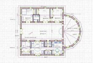 Floor Plans With Courtyards Courtyard Home Designs Find House Plans