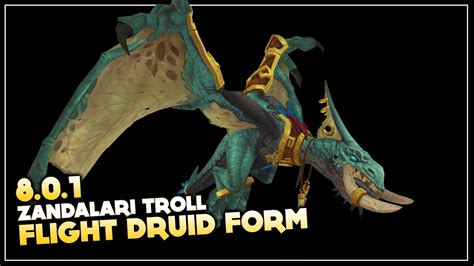 druid colors troll druid forms color guide
